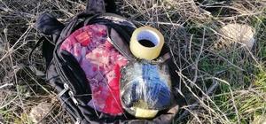 Şanlıurfa'da konserve kutusuna gizlenmiş bomba bulundu Ceylanpınar-Viranşehir kara yolu üzerine gizlenmiş plastik patlayıcı kontrollü bir şekilde imha edildi
