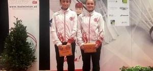 Erzincanlı sporcular Avusturya'dan gümüş madalya ile döndü