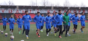 Karaköprü Belediyespor Tokatspor maçına hazırlanıyor