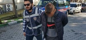 Evden hırsızlık iddiasına gözaltı