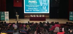 Yazar Tarık Buğra Akşehir'de anıldı