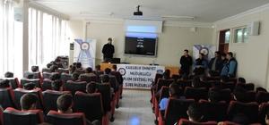 Öğretmenler ve öğrenciler uyuşturucu hakkında bilgilendirildi