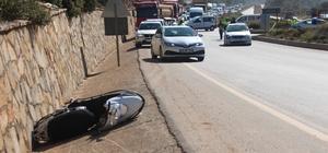 Kaskı taktı, ipini bağlamayınca hayatından oldu Otomobille çarpışan motosiklet sürücüsü hayatını kaybetti