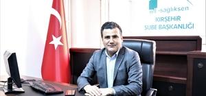"""Mil-Sağlık Sen Başkanı Yasin Yavuz: """"Sağlık çalışanları ekonomik haksızlıklara maruz kalıyor"""""""