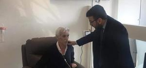 AK Parti Batman İl Başkanı Gür'den hastalara ziyaret