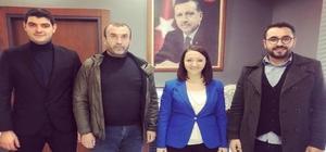 """AK Parti'den Başkan Tekin'e ziyaret Başkan Soydan, """"Pazaryeri AK Parti belediyeciliğin hizmetini daha önce gördü"""""""