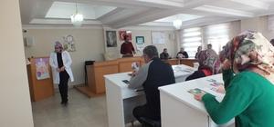 Belediye Personeline 'Madde Bağımlılığı ve Rahim Ağzı Kanseri' Semineri