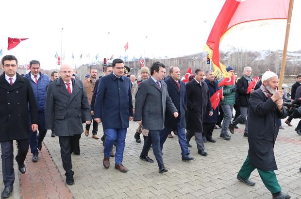"""İspir'de kurtuluş bayramı coşkuyla kutlandı Belediye Başkanı Ahmet Coşkun: """"İspir'in Kurtuluşu'nun 102. yılı bölgesel kalkınmanın başlangıcıdır"""" """"102. yıl yeni bir seferberlik halidir"""""""