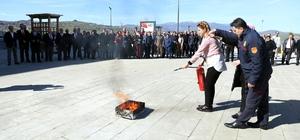 İlkadım Belediyesi Personeline yangın eğitimi