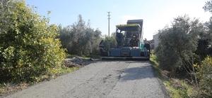 Erdemli Belediyesi, Çeşmeli'ye beton yol yaptı