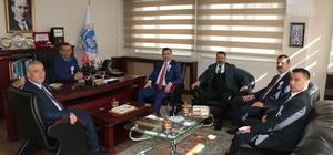 Erzincan Ticaret ve Sanayi Odasına Vergi Haftası ziyareti