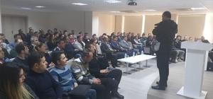 Fethiye'de KAAN projesi özel güvenlik görevlilerine anlatıldı