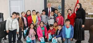 Başkan Öztürk çocuklara belediyeciliği anlattı