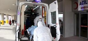 İran uyruklu tır şoförü korona virüs şüphesiyle hastaneye kaldırıldı