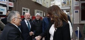 Başkanlardan CHP ve İYİ Parti'ye ziyaret