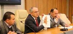 Başkan Öztürk, ticari taksicilerle toplantı düzenledi