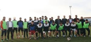 Silvan Emniyet Müdürü Aral'dan sporculara ziyaret