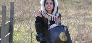 Komşudan akıl almaz müdahale Kadın ve çocuk mültecilere gaz ve ses bombası attılar