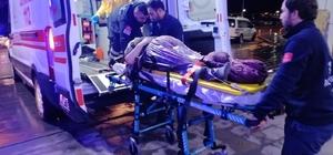 Aksaray'da 2 otomobil çarpıştı: 1 yaralı