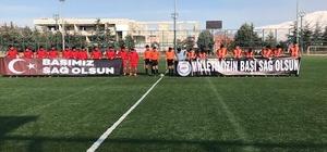 25 dakikada biten maç 9 kişi maça çıkan Keçiborlu Belediyespor maçı tamamlayamadı