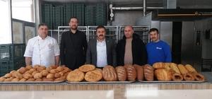 Çiçekdağı ilçesinde halk ekmek fırını üretime başladı