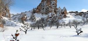 Kapadokya'yı Şubat ayında 106 bin 21 turist ziyaret etti Kapadokya'da geçen yıl Şubat ayına göre ziyaretçi sayısı yüzde 18 azaldı