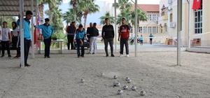 İskenderun'da Bocce Turnuvası sona erdi