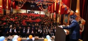 Belediye Başkanı Arı, AK Parti Kozaklı, Hacıbektaş ve Avanos İlçe kongrelerine katıldı
