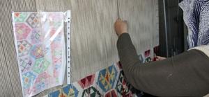 Dünya markası Erzurum Bardız kilimi yaşatılmaya çalışılıyor