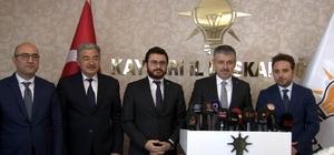"""AK Parti'de 3 ilçe başkan adayı belli oldu AK Parti İl Başkanı Şaban Çopuroğlu: """"Kafamıza göre iş yapmayız"""" AK Parti Kütahya Milletvekili ve İl Koordinatörü İshak Gazel: """"İl başkanımızdan memnunuz"""""""