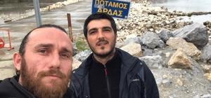 (Özel Haber) İHA ekibi suyun öte yakasında Yunanlı güvenlik güçlerinden Türk gazetecilere yakın markaj Meriç Nehri hattı boyunca Yunan askerleri otelleri 'Askeri karakollara' çevirdi