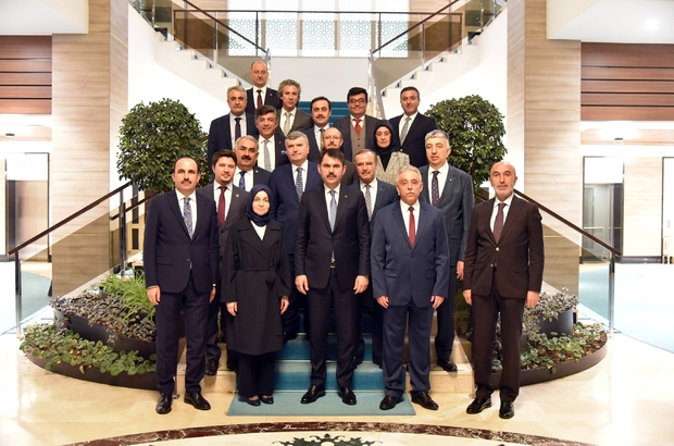 Konya protokolü bakanlarla Konya yatırımlarını konuştu