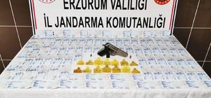 Jandarmadan sahte para operasyonu: 3 gözaltı 20 bin 900 TL sahte para ele geçirildi