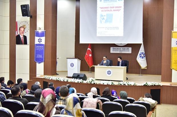 ETÜ'de 'Mehmet Akif Ersoy ve istiklal Marşı' paneli düzenlendi
