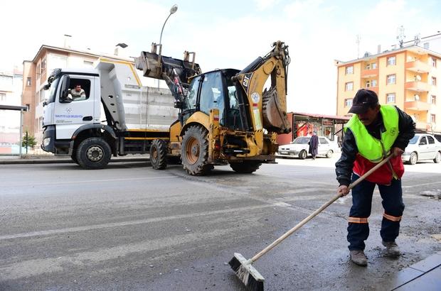 Yakutiye belediyesi bahar temizliğine başladı