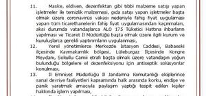 Kırklareli Valiliği'nden korona virüs kararları Kırklareli'nde tüm etkinlikler iptal