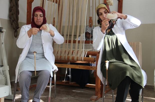 Ehram'ın şehir tartışmaları devam ederken Erzurumlu hanımlar ehrama modern dokunuşlarla bir geleneği sürdürüyor
