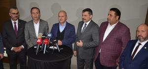 """Bakan Turhan, Çorum'daki yatırımları inceledi Ulaştırma ve Altyapı Bakanı Mehmet Cahit Turhan: """"Milletimize verdiğimiz hiçbir sözü yerde bırakmadık"""""""