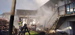Pazarlar'da ev yangını: 1 ölü