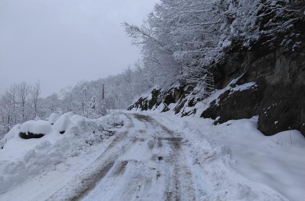 Trabzon'da kardan kapanan tüm mahalle yolları ulaşıma açıldı
