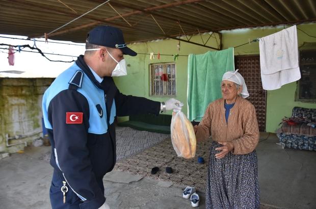 İncirliova'da yaşlı ve hastaların ihtiyaçları gideriliyor