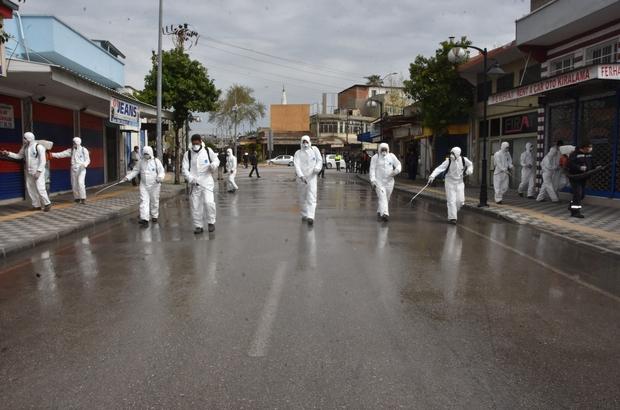 Ceyhan'da dezenfekte seferberliği