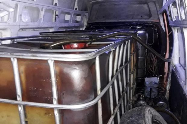 Ceyhan'da 2,5 ton kaçak madeni yağ ele geçirildi