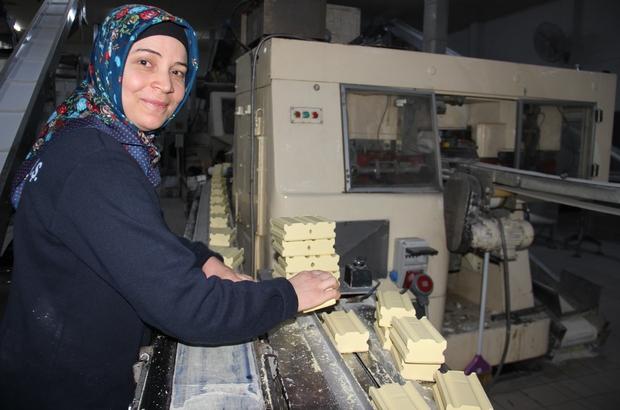 Dünya ülkelerinin Türkiye'den sabun talebi arttı Aydın sabunu dünyayı temizliyor
