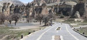 Kapadokya adeta hayalet şehre döndü Kapadokya bölgesini korona virüsü vurdu