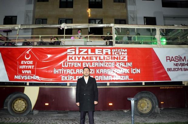 """Nevşehir'de """"Korona Konserleri"""" başladı Nevşehir Belediyesi, """"Evde kal"""" konseri düzenledi"""