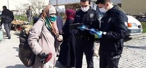 Bozkurt'ta yasağa uymayan 5 kişiye para cezası kesildi