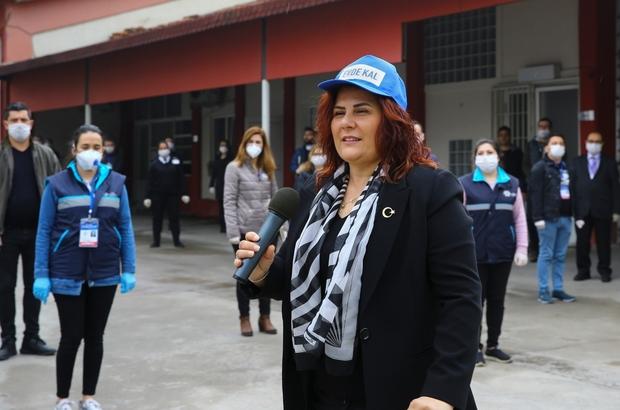 Başkan Çerçioğlu'ndan personeline moral ziyareti