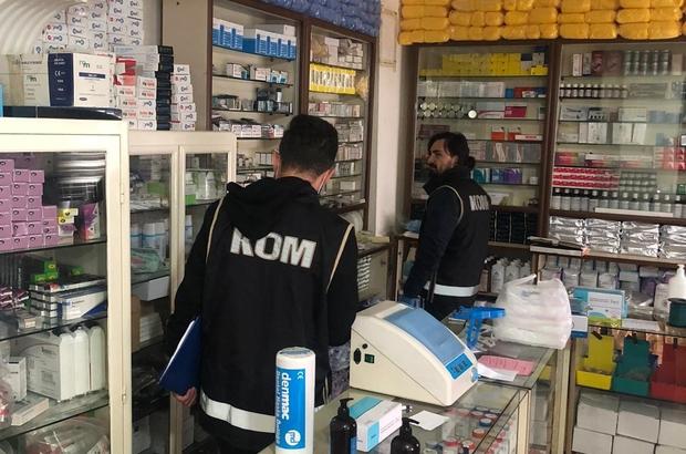 Malatya'da medikal malzemesi satan ruhsatsız iş yeri mühürlendi