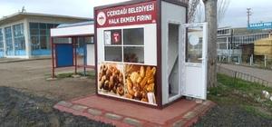 """Çiçekdağı ilçesinde """"halk ekmek satış büfe""""leri hizmete açıldı"""